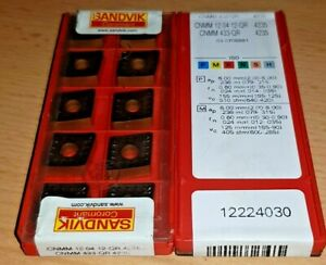 10 Sandvik Cnmm 120412-qr 4235 433-qr Inkl.19% Tva Plaquettes en Carbure a9MnrTuw-07135424-536943497