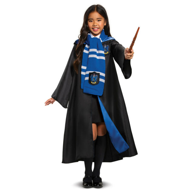 Ravenclaw Scarf Harry Potter Costume Accessory