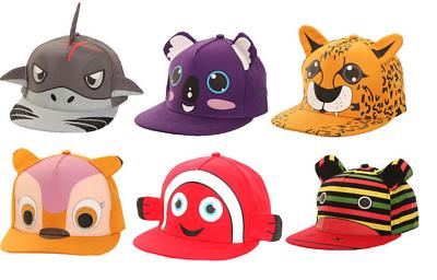 Novità Animale Bambini/bambini Cappello Da Baseball Caps/snapback Picco Vacanze Estive Sole-mostra Il Titolo Originale