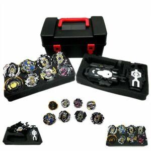 8x Beyblade Burst Stadium Arena Set Starter Evolution Gold w// LR Launcher Toy