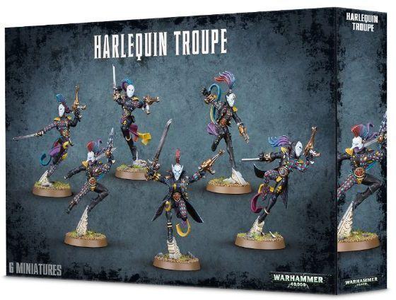 Harlequin Troupe - Warhammer 40k - Brand New! 58-10