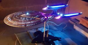 Details About Lighting Kit For Amt Star Trek Enterprise E 1 1400 Scale Model Not Included