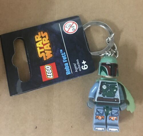 Star Wars Lego Boba Fett Minifigure Keychain  New Ready to Ship
