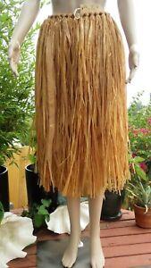 Old-Vintage-Hawaiian-Hula-Skirt-Lanakila-Crafts-Honolulu-Hawaii-Luau-Tiki-Surfer