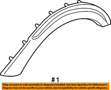 FORD OEM Front Fender-Wheel Well Flare Arch Molding Left 7L1Z16039APTM