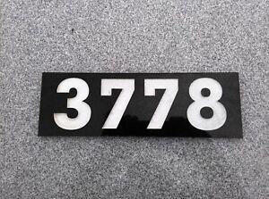 Granite Address Plaque 4 X 12 Custom Engraved 24 99 Free Shipping Ebay