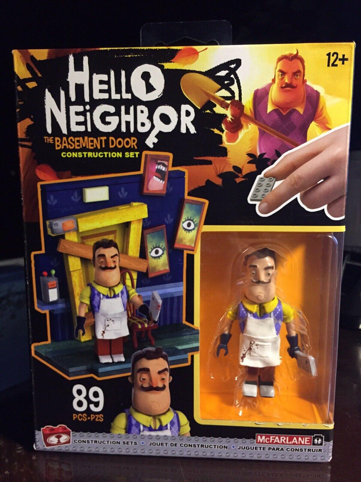 Hello Neighbor building set  McFarlane Toys Door Small Construction Set 89 Piece