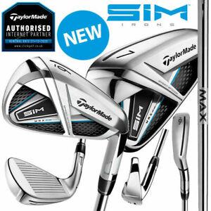 TaylorMade-SIM-MAX-Golf-Irons-KBS-Max-85-Steel-NEW-2020