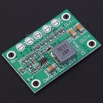 5Pcs 5-16V To 1.25V/1.5V/1.8V/2.5V/3.3V/5V Step-Down Power Module 3A Adjustable