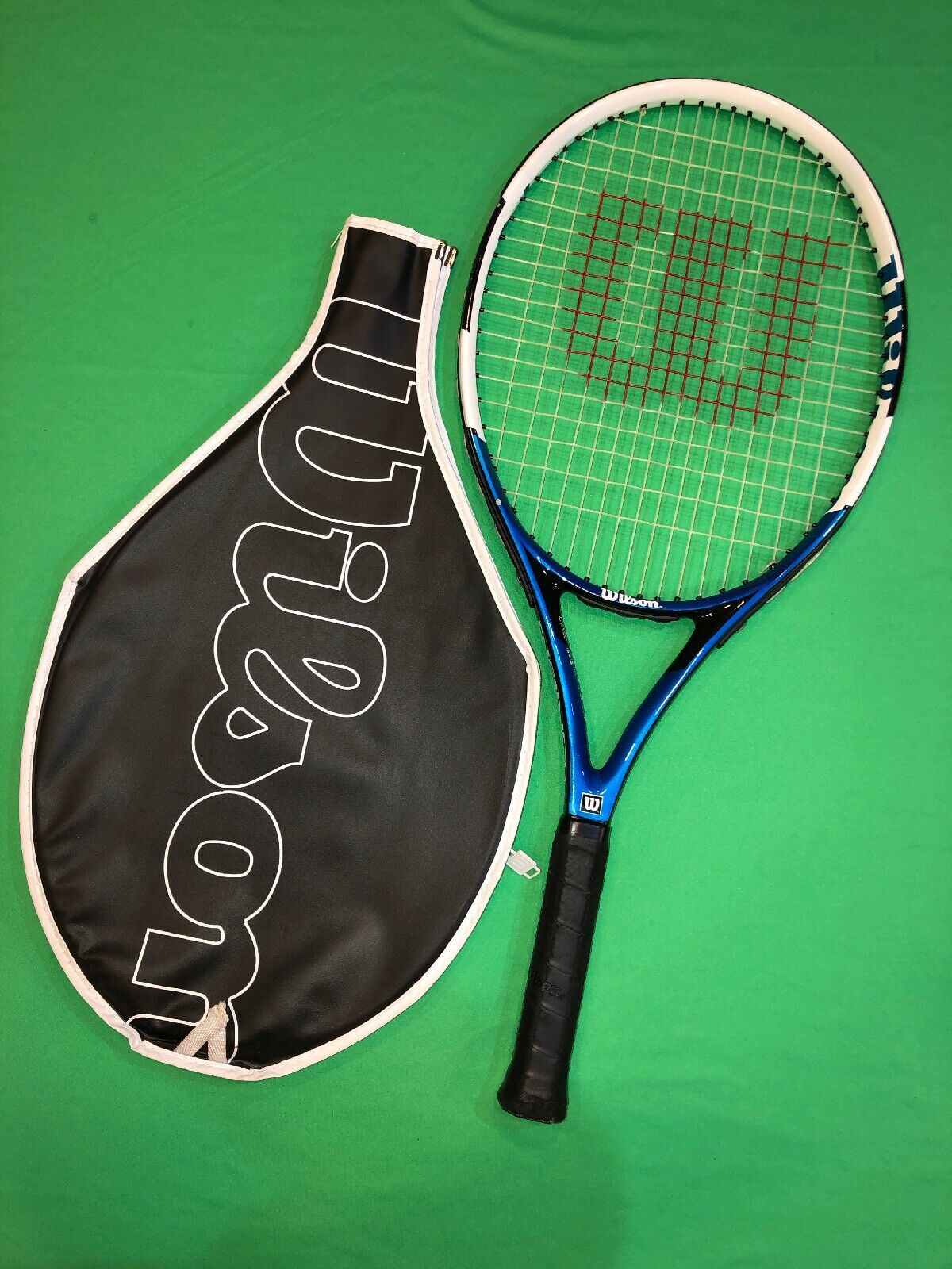 Wilson Nano Carbon 25 Tennis Racquet 3 7 8  L00 8.8oz. Junior w Cover