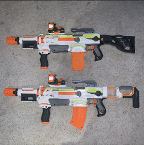 Lot-Of-2-Nerf-Gun-Modulus-Tested-And-Work-Great