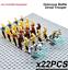 21-22-Pcs-Minifigure-Star-Wars-Clone-Trooper-Captain-Rex-Palpatine-Army-Lego-MOC thumbnail 2