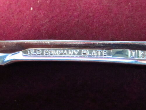 Silverplate International PIERCED SERVING SPOON OLD COMPANY RADIANCE NO MONO