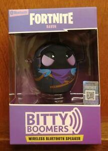 Raven Fortnite Bitty Boomer Wireless Bluetooth Speaker Black