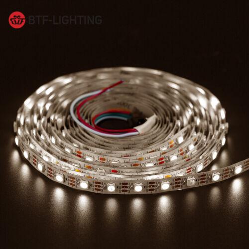 1//5M SK6812 LED Lichtleiste 30//60//144leds//M 5V Flexible Strips Ribbon Tape Lamps