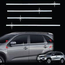 Chrome Window Sill Belt Molding Trim Cover for 09+ Sorento Sorento R