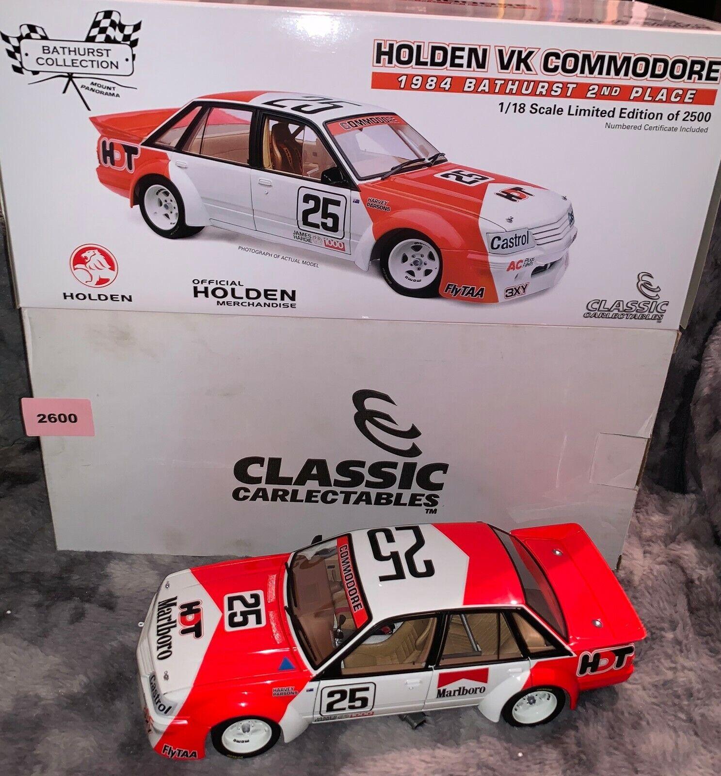 古典的なcarlectableホールデンVR Commodore-1984人のbathurst勝者レア!!( 2600 )