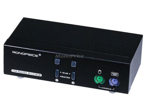 2-Port DVI KVM Switch Retail