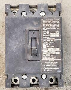 Cutler-Hammer-Eaton-CC3125-3-Pole-125-Amp-240V-Main-Circuit-Breaker