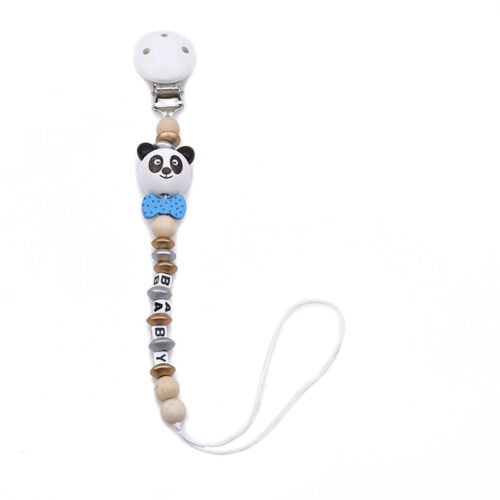 Baby Newborn Pacifier Clip Chain Strap Dummy Soother Nipple Holder SI