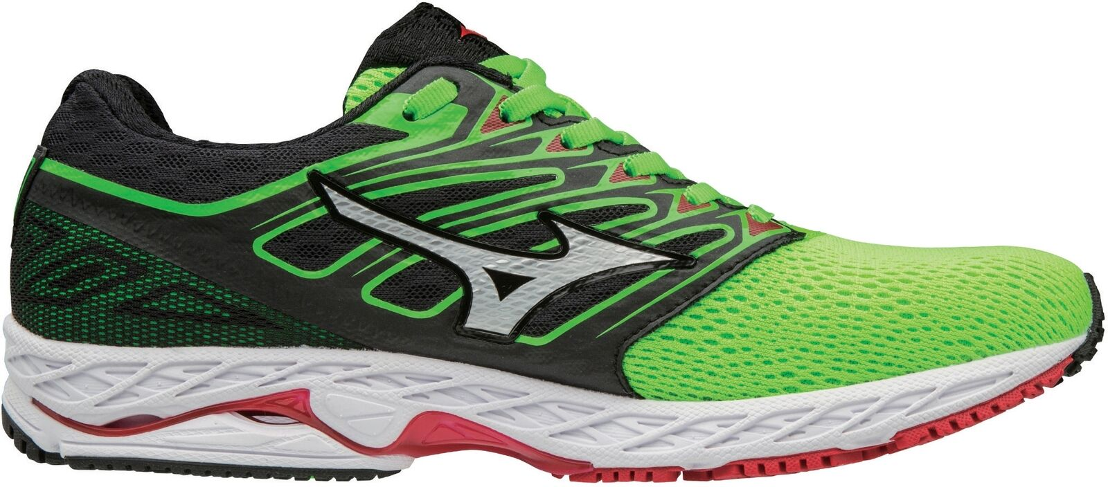 Wave Shadow Mens Running shoes - Green