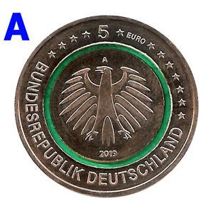 Sondermuenzen-Deutschland-5-Euro-Muenze-2019-Gemaessigte-Zone-A-Berlin-Sondermuenze