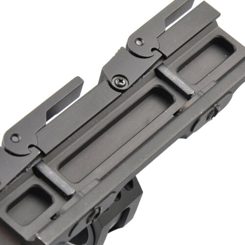 Quick Detach Cantilever Scope Ring Mount 25mm-30mm Dual Ring 20mm Rail Auto Lock