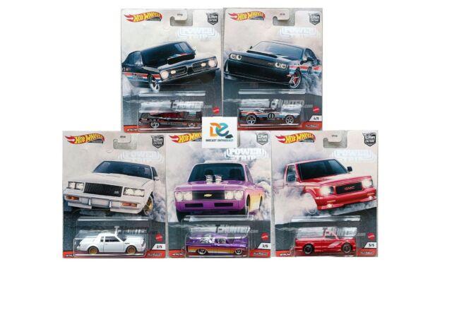 Pre Order Oct Hot Wheels Car Culture Power Trip 2020 SET 5pcs