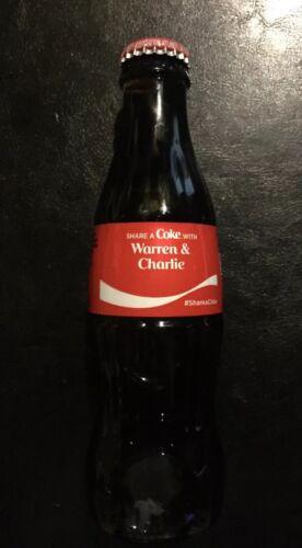 Warren Buffet Charlie Munger Coca Cola Berkshire Hathaway GLASS Wall Street SALE