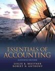 Essentials of Accounting MyAccountingLab With Pearson EText Breitner Lesl