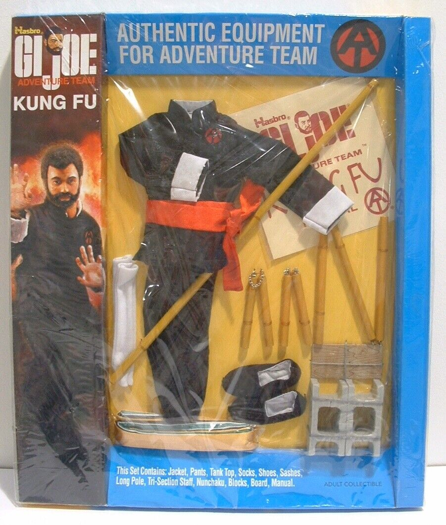 GI Joe Collector's Verein – Adventure Team Kung Fu Outfit NRFB