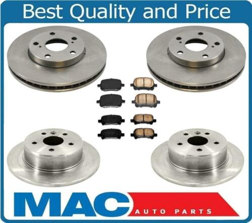 Front /& Rear Rotors Ceramic Brake Pads 6pc for Toyota Avalon 2000-2004