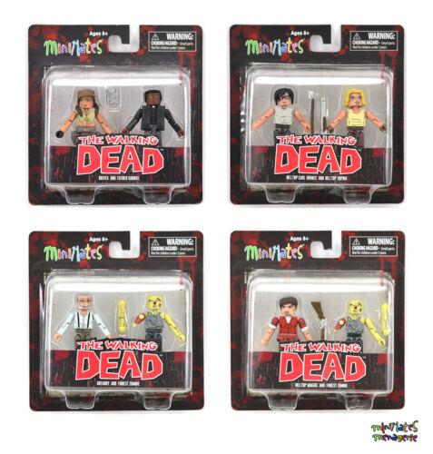 Walking Dead Minimates Series 8 Complete Set