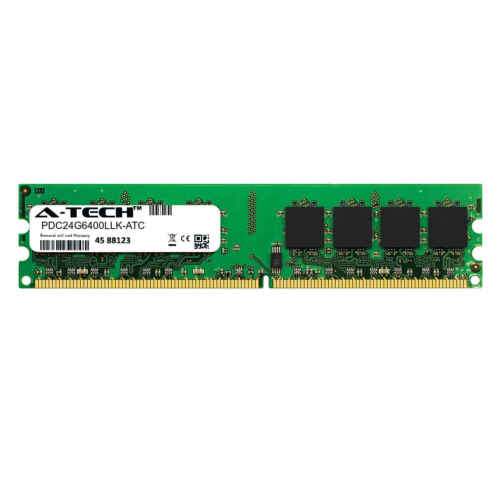 Memory RAM Patriot PDC24G6400LLK Equivalent 2GB DDR2 PC2-6400 800MHz DIMM