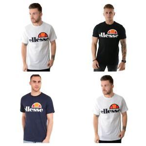 Ellesse-PRADO-Mens-T-Shirt-Casual-Cotone-Tee-T-Shirt-Maniche-Corte-Top
