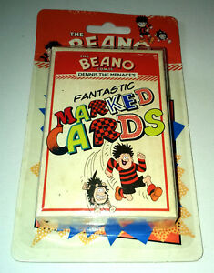 BEANO CARD GAMES Gnasher MATCHING Dennis NAME Marked Cards TRICKS Zoo IMPRESSION