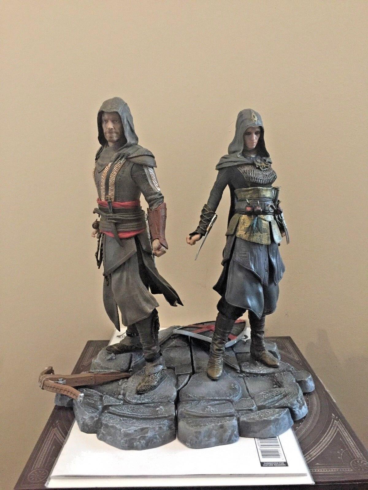 Assassin 's creed aguilar und maria - statue ubisoft abbildung