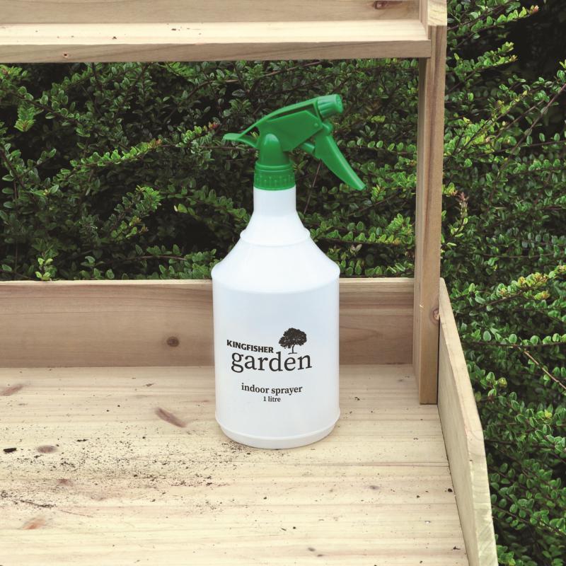1L Hand Water Spray Bottle Indoor Sprayer Plastic Sprayer Plants Garden PS1000