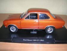 Atlas Fabbri Ford Escort 1300GT / 1300 GT braun Baujahr Modell 1969  1:24
