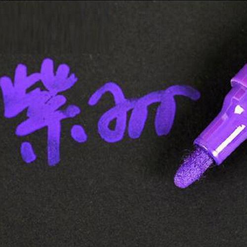 10Color Waterproof Permanent Oil Based Paint Pen Car Bike Tyre Tire Metal Marker