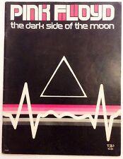 PINK FLOYD - The Dark Side Of The Moon - Original Sheet Music Songbook