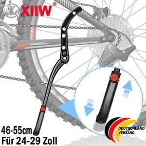 Parkstütze Fahrradständer Bike ebike MTB Seitenständer Alu 24-29Zoll verstellbar