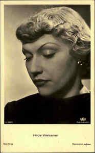 Schauspielerin-Kino-Film-Ross-Verlag-1930-Portraet-AK-Nr-2667-1-Hilde-WEISSNER