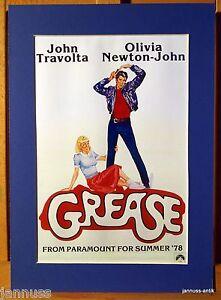 Anuncio-Impresion-Passepartout-80er-John-Travolta-Grasa-Newton-John-36x26-cm-860