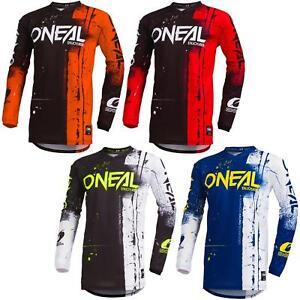 O-039-Neal-elemento-Shred-MOTO-CROSS-MTB-Jersey-Enduro-MX-Maglia-MOUNTAIN-BIKE-DH-FR