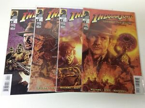 INDIANA-JONES-and-the-TOMB-OF-THE-GODS-1-4-DARK-HORSE-HARRIS-0618330-FULL-SET