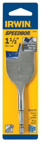 Irwin  Speedbor  Carbon Steel  Hex  1 1//2 in Wood Boring Bit Dia