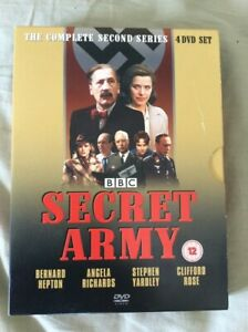 BBC-039-s-The-Secret-Army-Complete-Second-Series-Reg-2-4xDVDs-VGC-As-New-FreeP-amp-P