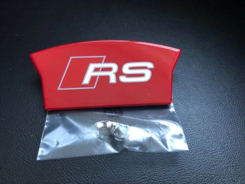 original Audi RS Logo für Bremssattel 8K0615404F  RS6 4G0615403D  4G0615404D