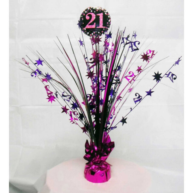 21st Birthday Spray Centrepiece Table Decoration Black Pink Purple Age 21 Party For Sale Online,Colored Stainless Steel Tumblers